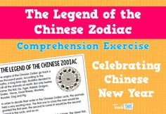 The Legend of the Chinese Zodiac