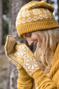 Knitted Hats, Mittens, Knit Crochet, Knitting, Creative, How To Make, Blog, Accessories, Design