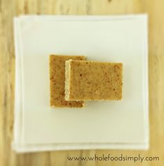Simple Lemon and Lime bars (gluten, grains, dairy, egg, nuts and refined sugar free) Lemon Recipes, Raw Food Recipes, Dessert Recipes, Primal Recipes, Fodmap Recipes, Healthy Recipes, Raw Desserts, Healthy Sweets, Healthy Foods