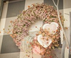 Burlap Wreath, Floral Wreath, Pastel, Wreaths, Spring, Home Decor, Floral Crown, Cake, Decoration Home
