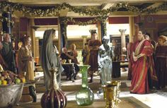 Who first created the image of Rome as a heartless, decadent empire? The Romans of course. Ancient Roman Houses, Ancient Rome, Ancient Greece, Cleopatra, Rome Hbo, Rome Tv Series, The Valiant, Medieval World, Roman History