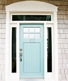 30 Front Door Colors with tips for choosing the right one - Postcards from the Ridge