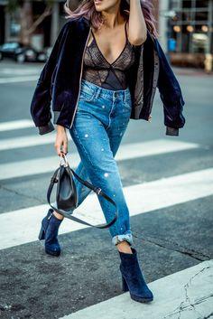 lingerie streetstyle in sandro #frankvinyl