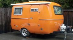 1976 13' Boler Travel Trailer