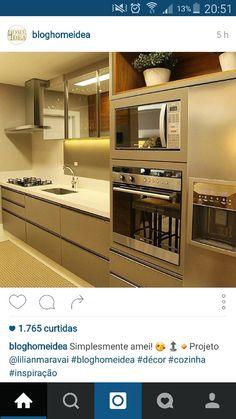 Cor móveis, nicho e eletrodomésticos