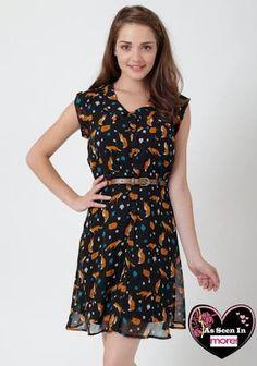 fox print dress - Penelusuran Google