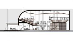 Afbeeldingsresultaat voor bastard store Longitudinal Section, Design Process, Architecture, Store, Arquitetura, Tent, Shop Local, Larger, Engineering Design Process