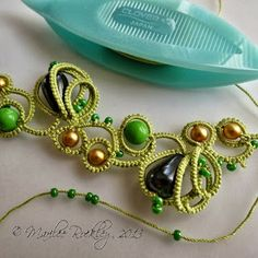 Yarnplayer's Tatting Blog; just this little piece is gorgeous!