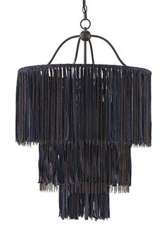 Currey and Company Boho Chandelier / DIY inspo
