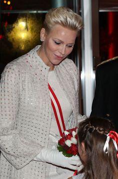 La Princesse Charlène À Monaco Le 19 Novembre 2017 5