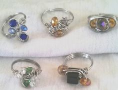 rings I've made
