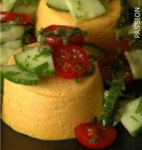 Carrot Flans with Fresh Goat Cheese - Flans de Carottes au Chevre Frais Diet Recipes, Vegetarian Recipes, Cooking Recipes, Healthy Recipes, Grilling Gifts, Cooking Time, Food Inspiration, Love Food, Food And Drink
