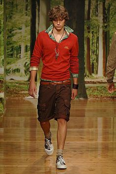 D&G Spring 2006 Menswear Fashion Show Collection