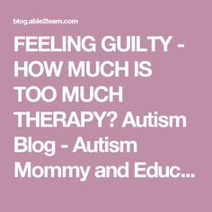 FEELING GUILTY - HOW