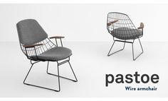 受注生産【pastoe/パストー】ワイヤーアームチェアケース・ブラークマン/オランダ/スチール/チェア/椅子【RCP】