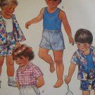 Vintage McCALL'S #2436 CHILDREN'S SZ 4 - SHIRT SHORTS TANK TOP