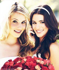 Dianna Agron and Lea Michele <3