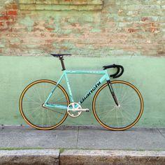 Celeste Bianchi - anyone would look sexy on this bike #bike #bikeporn #bianchi