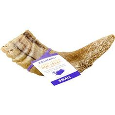 Icelandic+ Lamb Horn with Marrow Dog Chew 4-in