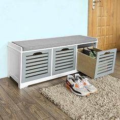 Make your home a little more organized with these 14 great shoe storageoptions. The horizontal shoe rack gives the appearance that shoes are floating off of the floor.Price: $$79.95. Modernize your home with this beautiful and well-built Sole Secret storage bench. It provides amazing storage options as well as occasional seating. Price: $379.99. Find it …