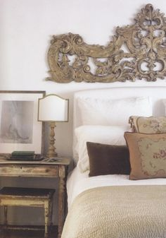 so pretty as a headboard. I wonder where i could find one of these?