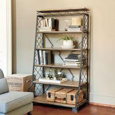 Nadine Metal Etagere | European-Inspired Home Furnishings | Ballard Designs