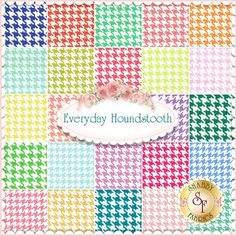 Everyday Houndstooth By Michael Miller Fabrics - June 2014