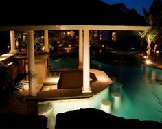 Swim-Up Pool Bar Ideas