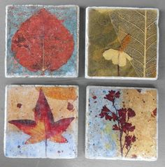 pressed+flower+art | Gifts for Gardeners Pressed Flower Art Stone by mypetalpress, $12.50
