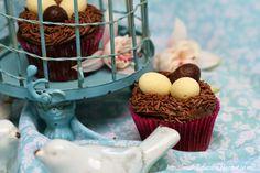 Mia Bella Passions: Triple Choc Easter Nest Cupcakes... http://miabellapassion.blogspot.co.nz/2015/03/triple-choc-easter-nest-cupcakes.html