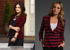 Aria Montgomery Fashion, Clothes, Style and Wardrobe worn on TV Shows  