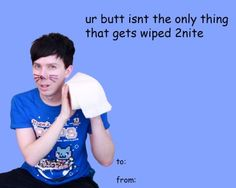 happy valentines day dan and phil