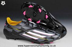 (Black White Pink) TRX FG Adidas F50 AdiZero For Wholesale