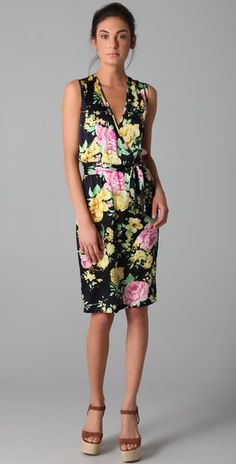 Thayer. Go Deep Printed Dress