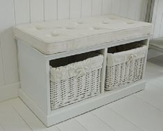 Superieur White Storage Bench Seat Small Storage Bench, Storage Bench Seating, Bench  Storage, Entryway