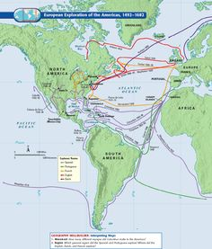 European exploration of the Americas (1492-1682)