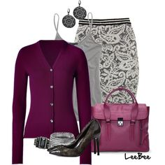 """Work Lace"" by leebee11 on Polyvore"