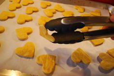 Sweet potato crackers recipe - easy, healthy recipe idea for kids