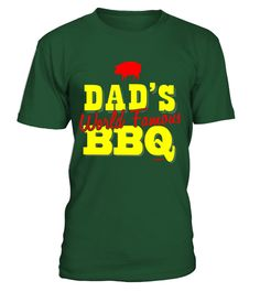 99a8b0de06 BBQ T-Shirt Dad's World Famous BBQ Tee . Special Offer, not available