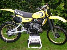 YAMAHA YZ 465 - 1981