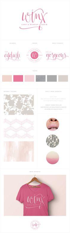 Brand Launch: Winx Lash & Makeup Studio - Salted Ink Design Co. | Branding…