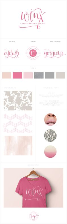 Brand Launch: Winx Lash & Makeup Studio - Salted Ink Design Co. | Branding…