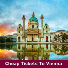 Book cheap flights from London to Vienna with Dream World Travel.Find Cheap Flight Deals on all major airlines. Cheap Flights From London, Cheap Flights To Europe, Book Cheap Flights, Cheap Flight Deals, Book Cheap Flight Tickets, Cheap Tickets, Lowest Airfare, Major Airlines, Vacation Planner