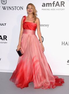 Pin for Later: Catch All the Glamour From the Most Stylish Fashion Party in Cannes Petra Nemcova Wearing Georges Chakra Couture, Chopard jewelry, and Giuseppe Zanotti shoes.