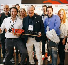 Our team is having a great time at #TEDxVicenza ! #fun #amusment #sponsor #MrZ #MrZJr #Tedx