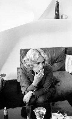 David Hurn FRANCE. PARIS. Jeanne MOREAU. French actress of stage and film.