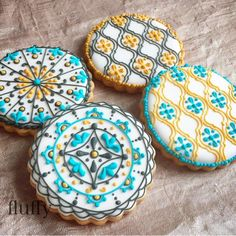 モロッカン アイシング クッキー