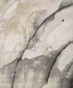 'Minerals_Blush Grey' | 60% Tibetan wool 40% Chinese silk | 100 knot/inch
