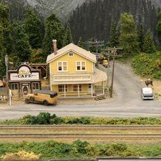 HO Train Display Layout | Perfect HO Model Train Layouts
