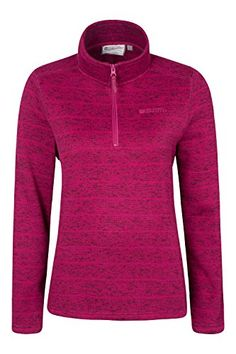 Mountain Warehouse Idris Striped Womens Half Zip Fleece